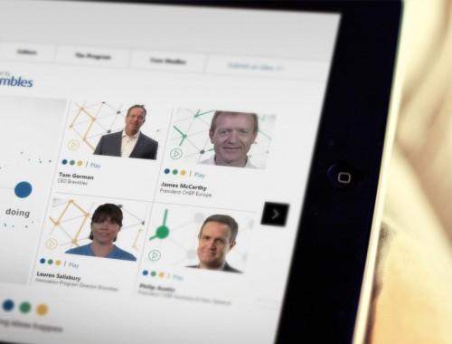 Interactive presentation design for logistics company 2
